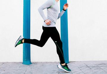Electrostimulation and running
